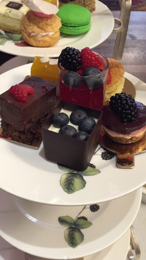 Glutenfri afternoon tea London